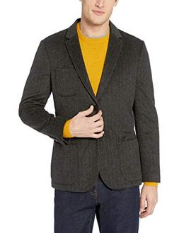 Goodthreads Men's Slim-Fit Wool Blazer, Charcoal, Large