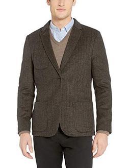 Goodthreads Men's Slim-Fit Wool Blazer, tan, Small