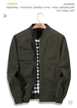 Nantersan Slim Military Style Jacket green