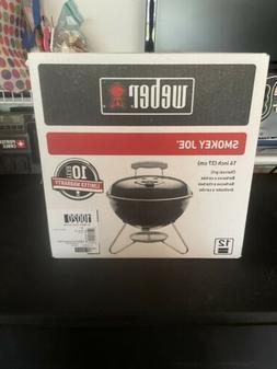 Weber Smokey Joe 10020 Portable Charcoal Grill 14in. - Black