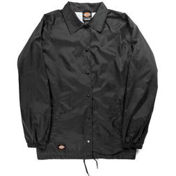 snap front lined windbreaker men s nylon