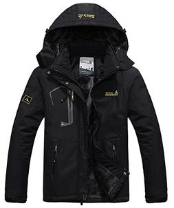 JINSHI Men Snow Jacket Windproof Waterproof Ski Jackets Wint