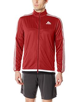 adidas Men's Soccer Tiro 15 Training Jacket, Power Red/White
