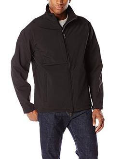 Red Kap Men's Soft Shell Jacket, Black, X-Large