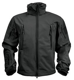 Rothco Special Ops Tactical Soft Shell Jacket, Black, 6X-Lar