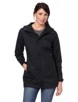Columbia Women's Splash A Little Rain Jacket, Medium, Black
