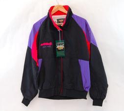 Split Fire Spark Plugs Windbreaker Jacket Neon Dunbrooke 90s