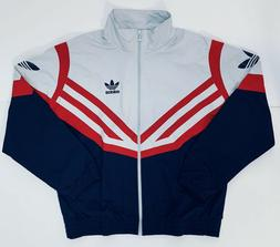 Adidas Sportive Track Jacket Men's Retro 90's Olympic Grey R