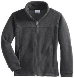 Columbia Little Boys' Steens Mt II Fleece Jacket, Charcoal H