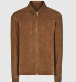 SUPER SALE! Marlo Tobacco Color Suede Jacket Men's Size XL