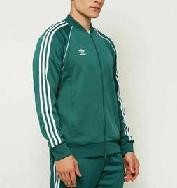 adidas Originals Men's Superstar Track Jacket, Black, 2XL