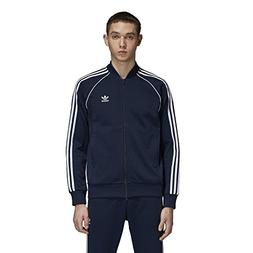 adidas Originals Men's Superstar Tracktop, Collegiate Navy,