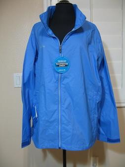 COLUMBIA SWITCHBACK ll JACKET    WATER RESISTANT    BLUE