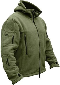 TACVASEN Men's Tactical Fleece Jacket
