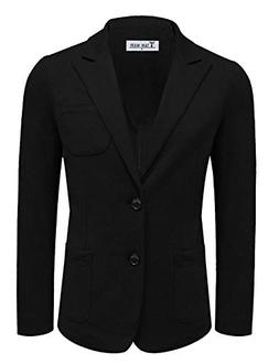 TAM Ware Men Casual Slim Fit Single Breasted Blazer Jacket T