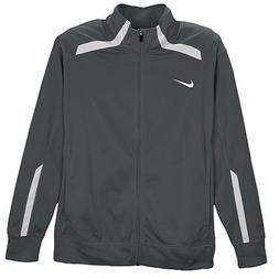 Boys Nike Team Overtime Training Jacket,Grey,Medium