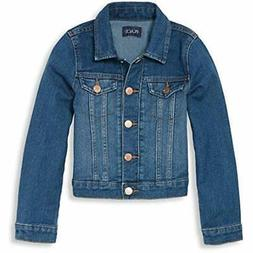 The Children's Place Big Girls' Denim Jacket, AZUREWASH, M