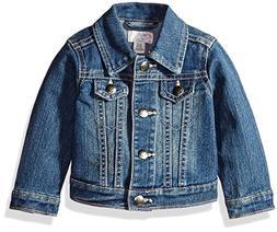 The Children's Place Girls' Denim Jacket, China Blue 6065, 1