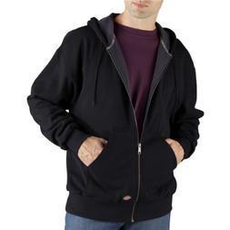 Dickies Men's Thermal Lined Fleece Jacket, Dark Navy, XX-Lar