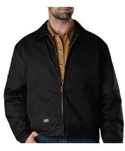 Dickies TJ15 Black Lined Eisenhower Jacket Size M-5XL *Free