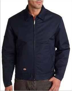 tj15 dark navy lined eisenhower jacket size