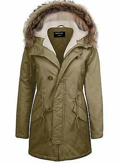 TOP LEGGING TL Women's Militray Anorak Parka Hoodie jackets