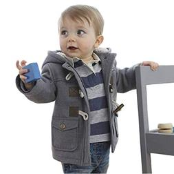 Rosiika Toddler Little Baby Boys Autumn Winter Fleece Jacket