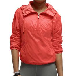Nike Women's Track and Field Summerized Running Jacket-Neon