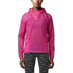 Nike Transparent Woven Women's Running Jacket, Hot Pink, Med