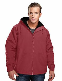 Tri-Mountain Men's Big And Tall Heavyweight Hooded Fleece Ja