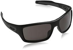 Oakley Men's Turbine OO9263-01 Rectangular Sunglasses, Matte