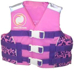 Swimline Kids USCG Approved Life Vest, Girls