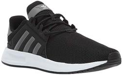 adidas Originals Unisex X_PLR Running Shoe, Black/Grey/White