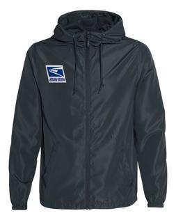 USPS Postal Service Windbreaker/Rain Jacket Navy Blue