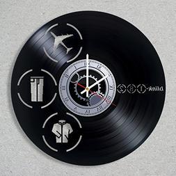 Vinyl Record Wall Clock Blink 182 Punk Rock Band California