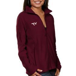 Virginia Tech Hokies Women's Columbia Full Zip Fleece Sweate