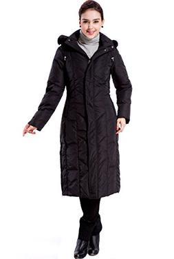 "BGSD Women's ""Tisha"" Waterproof Long Hooded Down Parka Coat"