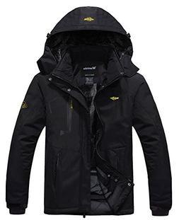 Z-SHOW Men's Waterproof Mountain Jacket Fleece Windproof Ski