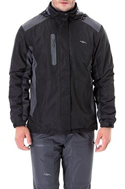 Trailside Supply Co. Men's Weatherproof Fleece-Lined Hooded