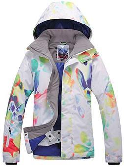 APTRO Women's Windproof Waterproof Bright Color Ski&Snowboar