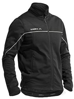 INBIKE Men's Cycling Jacket, Winter Fleece Thermal Windpro