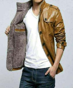 Winter Men's Slim collar jackets fashion jacket Tops Casual