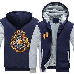 Wizardry Hogwarts Cosplay Costume Sweatshirt Winter <font><b