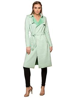 Lock and Love WJC1613 Womens Suede Coats Long Duster Jacket