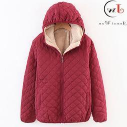 Women Autumn Winter Parkas Coat <font><b>Jackets</b></font>