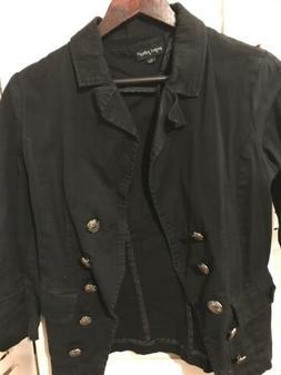 Women Casual Blazer Suit OL Business Jacket Coat Lapel Zip L