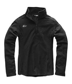 The North Face Women Glacier Quarter Zip - TNF Black - S