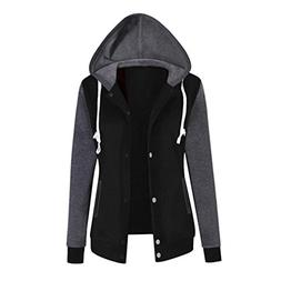 Jushye Women's Hoodies Jacket Coat, Ladies Autumn Hoody Fash