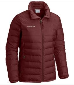 COLUMBIA WOMEN'S CARRIBOU CREST JACKET BLOODSTONE XL BRAND N
