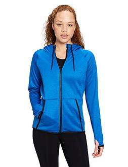 Core 10 Women's Chill Out Fleece Full-Zip Hoodie , Electric
